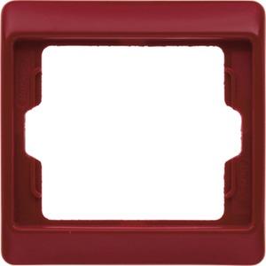 1-fach Rahmen Arsys - rot/ glänzend