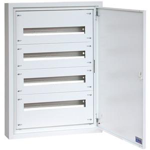 Aufputz Flachverteiler (BxHxT) 600 x 600 x 100 mm RAL9016