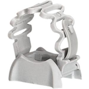 Rohrschelle grau für Ø 16 bis 20 mm