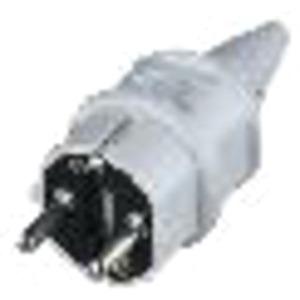Stecker SCHUKO 16A 2-polig +E 230V IP44