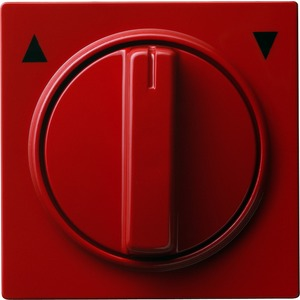 Abdeckung Knebel für Jalousieschalter für S-Color rot