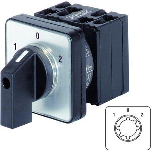 Umschalter 2-polig Instrumentengriff schwarz 1-0-2