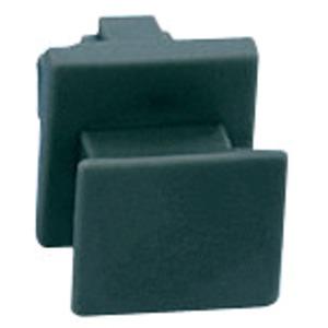 Blindstecker schwarz zum Schutz unbelegter Stecköffnungen