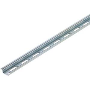 Tragschiene Stahl verzinkt 2000 mm TS 15X5/LL 2M/ST/ZN