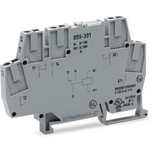 Schaltrelaisklemme Relais mit 1 Wechsler 110 DC 6mm
