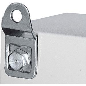 Wandbefestigungshalter 8mm Stahlblech verzinkt und Preis per VPE VPE=4