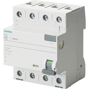 Fehlerstromsschutzschalter / FI 4p Typ A kurzzeitverzögert 40 A 30 mA 400 V
