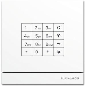 Außenstation mit Tastatur-Modul weiß Busch-Welcome