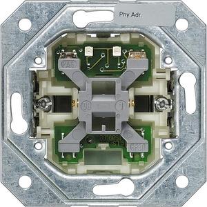KNX Busankoppler mit Tasterstellung ohne Wippe 1-fach Unterputz
