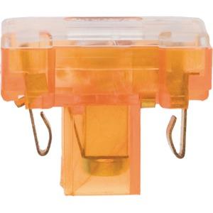 Berker Glimmaggregat mit N-Klemme Modul Einsatz orange