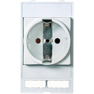 Modlink Frontplatteneinbau Steckdosenmodul VDE 250V AC 16 A FZ