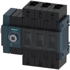 Lasttrennschalter 100A Baugr. 2 / 3-polig Seitenantrieb links
