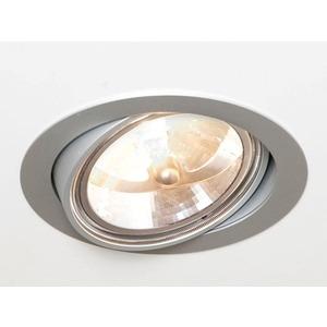 ONLY-M-LED Einbaustrahler silber matt 1x AR111 35-100W G53