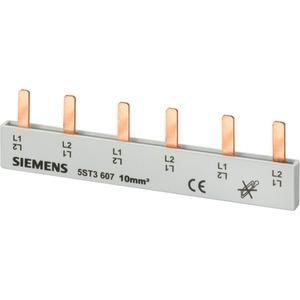Stiftsammelschiene 16 mm² 2-phasig+HS 214mm lang vollisoliert