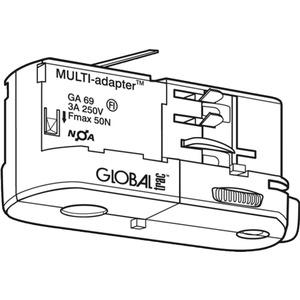 NOA Multiadapter weiß Tragkraft: 5kg GA 69-3