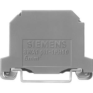 PE-Klemme 2 Schraubanschlüsse grün-gelb 8mm Gr.6