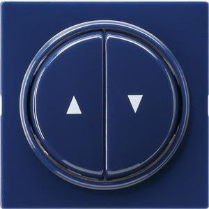 Abdeckung und Wippen mit Pfeilsymbol für S-Color blau