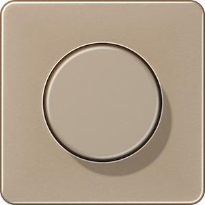 Abdeckung für Drehdimmer Serie CD gold - bronze