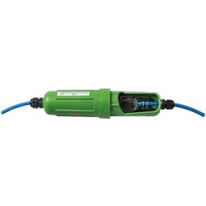 Glasfasermuffe Verbindungsmuffe 2x M16 IP68 grün Schrumpftechnik