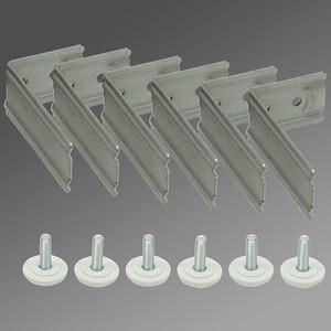 Universalbefestigungs-Bügel (6Stück) UBB-PRE 6 metallisch