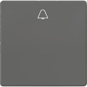 I-System carbon-metallic Wippe mit Symbol Glocke