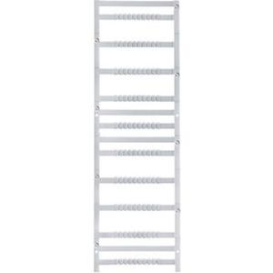 Klemmenmarkierer / Verbindermarkierer 5 x 4 mm Polyamid 66 weiß