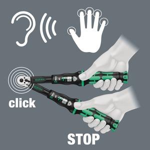 Click-Torque X 5 Drehmomentschlüssel für Einsteckwerkzeuge 14 x 18 mm 60 - 300 N