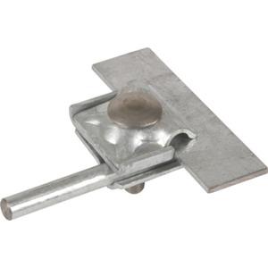 Falzklemme mit vergrößerter Anschlussfläche NIRO Rd. 8-10 mm