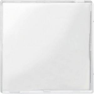 Wippe mit transparenter Abdeckung transparent/polarweiß M-Creativ