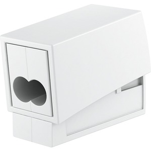 Leuchtenanschlussklemme mit 3 Klemmstellen 0,5 - 2,5mm² weiß