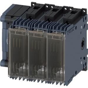 Lasttrennschalter mit Sicherung 63A BG 1 - 3p für NH-Sich. Gr. 000