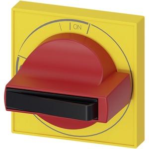 Zubehör für 3KD Baugr. 1 Türkupplungsdrehantrieb Handgriff gelb/rot