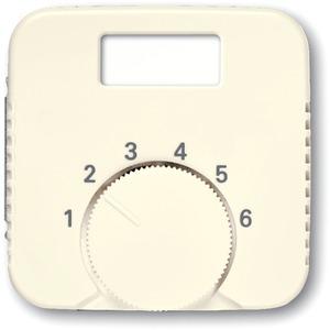 Abdeckung für Raumtemperaturregler 1094 UTA 1097 UTA cremeweiß