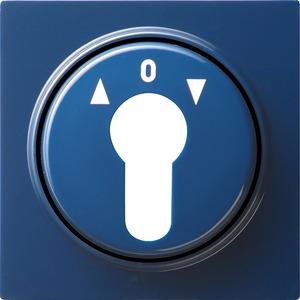 Abdeckung Schlüsselschalter für S-Color blau