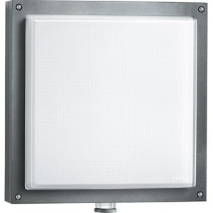 Sensor-Decken/Wandleuchte L 690 LED 9W 3000K 753lm alu/anthrazit
