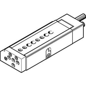 Mini-Schlitten Kugel-Käfig-Führung Baugr. 8 mm / Hub 50 mm Y3-Dämpf.