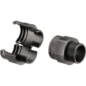Kunststoff Verschraubung teilbar PA6 metrisch 14M20 schwarz