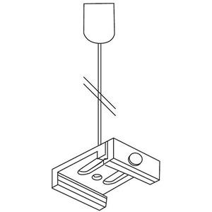 NOA Seilabhängung grau Seilabhängungsset 3000mm SKB