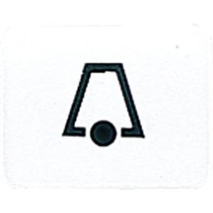 Symbol Klingel für Abdeckungen Wippen und Taster