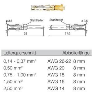 Leiterplattensteckverbinder CB1,6E18-16 SN I3,5