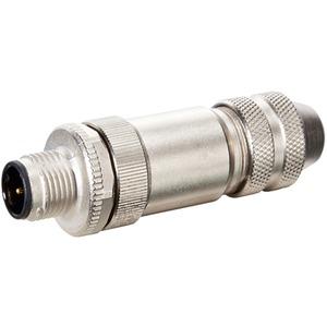 Stecker M12 gerade geschirmt selbstanschl. Schraubkl. 5p max. 0,75mm²