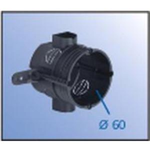 ISO-Verlängerungsring für Außendämmung Einbauöffnung Ø 60 mm