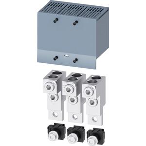 Rundleiteranschlussklemme 2 Kabel 3 Stk - Zubehör für 3VA1 250