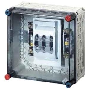 MI 5250 MI-NH-Sicherungslastschaltergehäuse 1xNH00 3pol 125A +PE +N