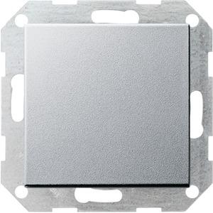 Tastschalter Kreuz System 55 Aluminium