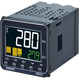 Temperaturregler 1/16DIN 48 x 48mm 1x Relaisausgang 2 Hilfsausgänge