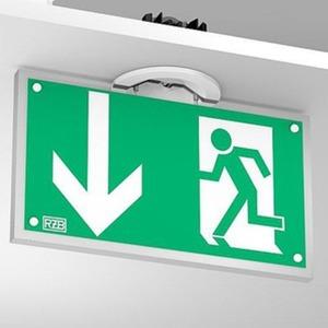 LED Deckeneinbauleuchten zur Rettungswegkennzeichnung