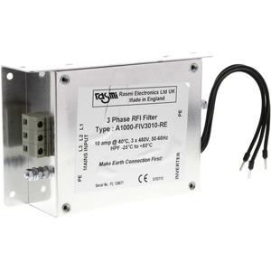 RFI-Unterbaufilter V1000 20 A 400 VAC 3-phasig für 3,0 bis 4,0 kW