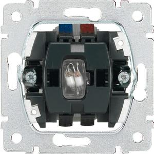 Einsatz Wipptaster Wechsler 1-polig beleuchtet