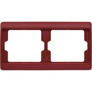 2-fach Rahmen Arsys - rot/ glänzend